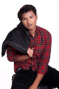 modeling portfolio image of Faizan