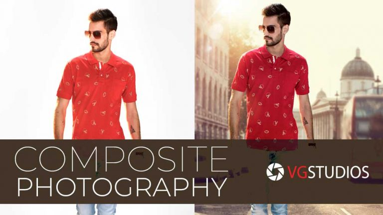 Background change for fashion photography