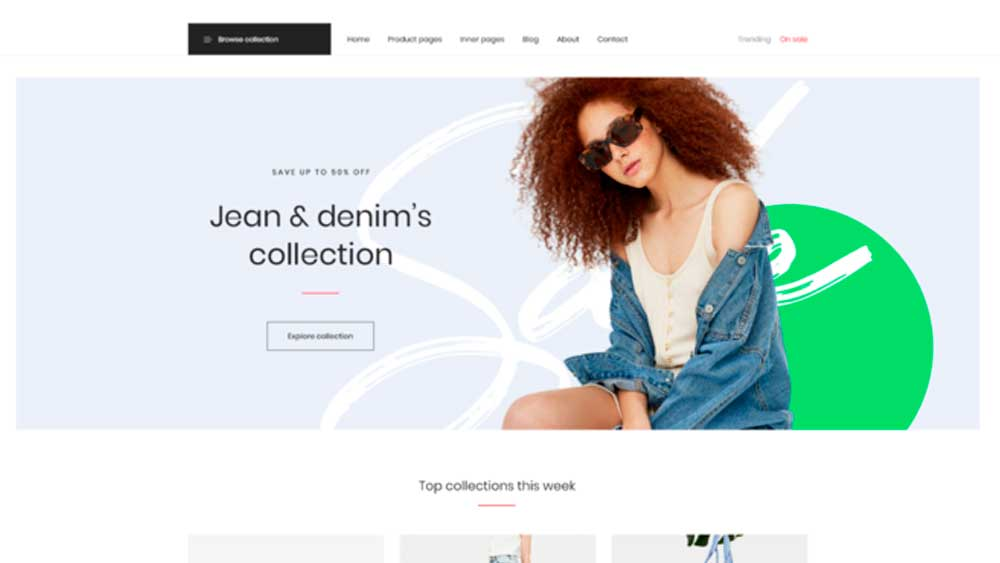 web designing for fashion designers